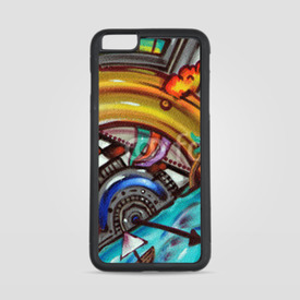 Etui na iPhone 6 Plus/6s Plus Sztuka street art