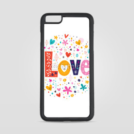 Etui na iPhone 6 Plus/6s Plus Słodkie love