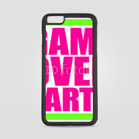 Etui na iPhone 6 Plus/6s Plus Game Over Party Neon