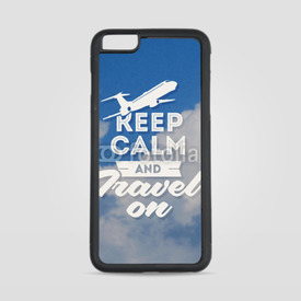 Etui na iPhone 6 Plus/6s Plus Keep calm and travel on