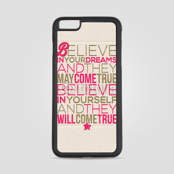 Etui na iPhone 6 Plus/6s Plus Believe in yourself