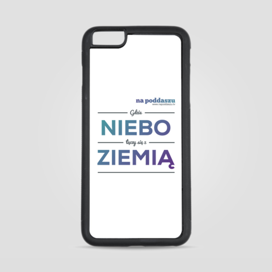 Etui na iPhone 6 Plus/6s Plus Niebo i ziemia