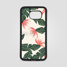 Obudowa na Samsung Galaxy S6 Dark green leaves