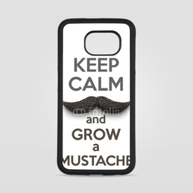 Obudowa na Samsung Galaxy S6 Keep Calm and grow a Mustaches