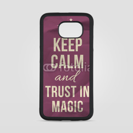 Obudowa na Samsung Galaxy S6 Keep calm trust in magic