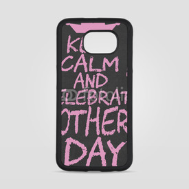 Obudowa na Samsung Galaxy S6 Keep calm and celebrate mother's day