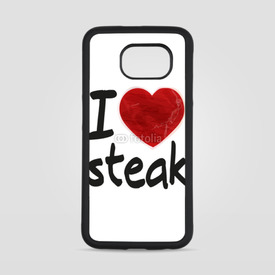 Obudowa na Samsung Galaxy S6 I love steak