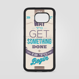Obudowa na Samsung Galaxy S6 Motivating Quotes. Typographical vector design
