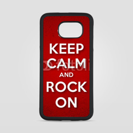 Obudowa na Samsung Galaxy S6 Keep Calm and Rock On