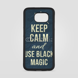 Obudowa na Samsung Galaxy S6 Keep calm and use black magic