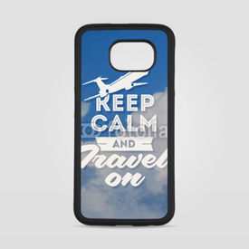 Obudowa na Samsung Galaxy S6 Keep calm and travel on