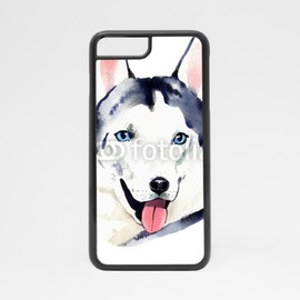 Obudowa na iPhone 7 Pies husky