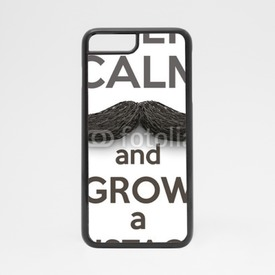 Obudowa na iPhone 7 Keep Calm and grow a Mustaches