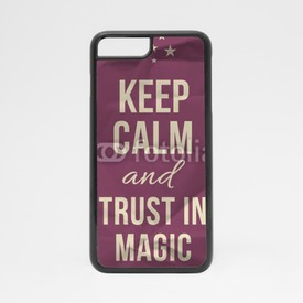 Obudowa na iPhone 7 Keep calm trust in magic