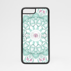Obudowa na iPhone 7 Watercolor mandala on white background