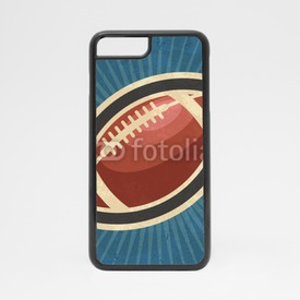 Obudowa na iPhone 7 Retro American Football