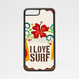 Obudowa na iPhone 7 I love surf