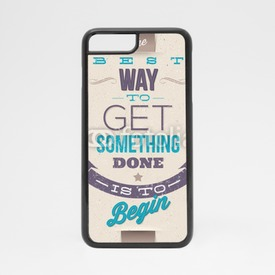 Obudowa na iPhone 7 Motivating Quotes. Typographical vector design