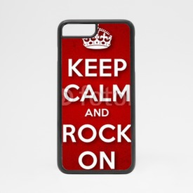 Obudowa na iPhone 7 Keep Calm and Rock On