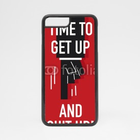 Obudowa na iPhone 7 Get up and suit up