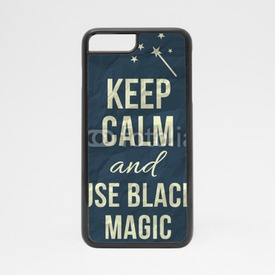 Obudowa na iPhone 7 Keep calm and use black magic