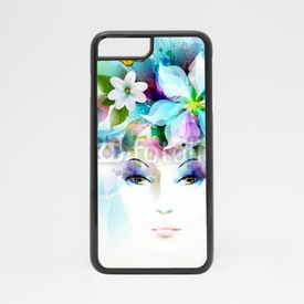 Obudowa na iPhone 7 Beautiful fashion women face
