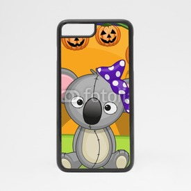 Obudowa na iPhone 7 Koala na Halloween