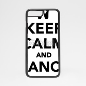 Obudowa na iPhone 7 Keep Calm and Dance on