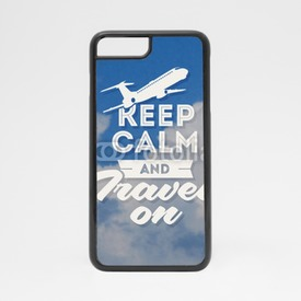 Obudowa na iPhone 7 Keep calm and travel on