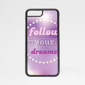 Obudowa na iPhone 7 Follow your dreams