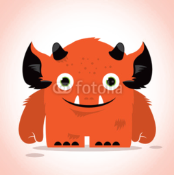 Obudowa na iPhone 7 Cute monster
