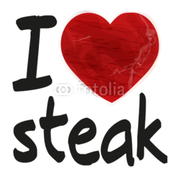 Deska do krojenia I love steak