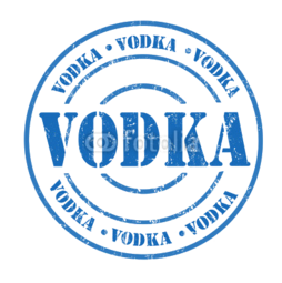 "Kubek do kawy latte pieczątka ""Vodka"""