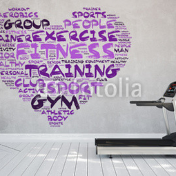 Obudowa na iPad Air I (heart) gym