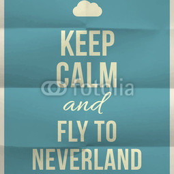 Poster Fly to Neverland