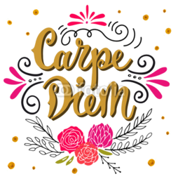 Kubek do kawy latte Carpe diem