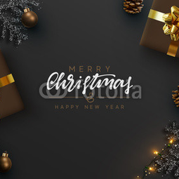 Christmas banner. Background Xma...