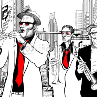 Jazz band in New York